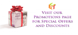 Special Offers, Promotions and Discounts from ET&C