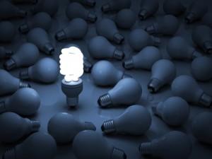 Eco Energy Saving Light Bulb by Master isolated images at FreeDigitalPhotos.net